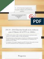 JNC 8 – 2014 Directriz Basada en La