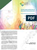 Claves Para Potenciar La Atencion Concentracion Psp Carlos Caamano PDF 757 Kb