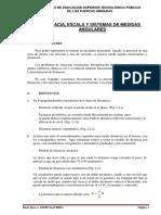 Distancia, Escala y Sistema de Medidas Angulares