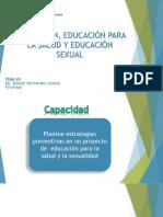 TEMA XII - Promoción, Educación Para La Salud y Educación Sexual FINAL