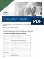 Application Timeline _ Chevening