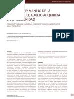 Evaluación y manejo de la neumonia en el adulto