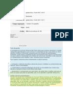 Gabarito Do Módulo 2 - Temas 1,2,3 e 4.