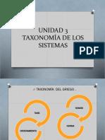 Unidad 3 Taxonomía de Los Sistemas (1)