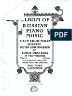 Album of Russian Piano Music Vol2