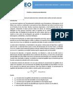 Guía de Práctica 8 - Cinética e Isoterma de Adsorción