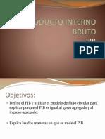 Producto Interno Bruto q118