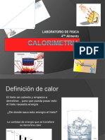 CALORIMETRIA ppt