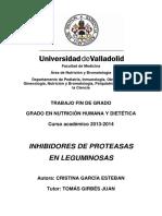 García. 2014. Inhibidores de Proteasa en Leguminosas