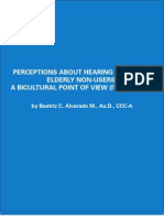 Perceptions about hearing aids from elderly non-users