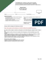 Normas Para Examen de TC y Link Para Subir Trabajos