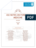 432 Notes on Forensic Medicine