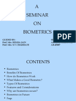 Bio Metrics Final