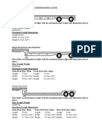 Flatbed Dimensions