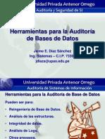 Auditoria de Sistemas  de informacion - Bases de Datos