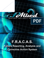 Fracas, Failure Reporting Analysis, Corrective Action System