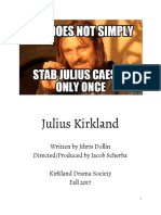 Julius Not Shakespeare Kirkland