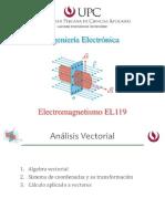 Electromagnetismo - Algebra Vectorial