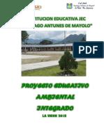 PEAI2018 - I.E JEC Santiago Antunes de Mayolo - LA UNION