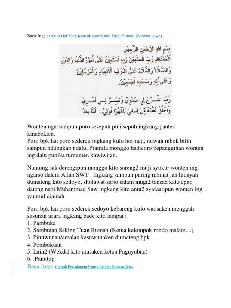 Kumpulan Contoh Contoh Pembawa Acara Halal Bihalal