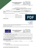 Raport de Evaluare Externa in Vederea Autorizarii