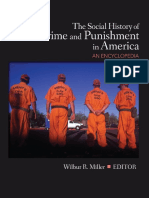 MILLER, Wilbur - The Social History of Crime and Punishment in America