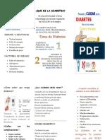 Folleto Diabetes