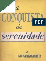 A Conquista Da Serenidade-J_ Krishnamurti