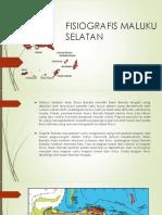 Fisiografis Maluku Selatan