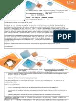 Guía de actividades y rúbrica de evaluacion