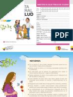 Libreta Integral de Salud Materna