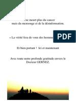 Methode Gernez Anti Cancer