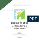 EU1 Excitacion en Generador CD