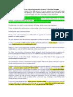 Case Notes General Principles