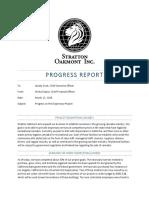 stratton progress report