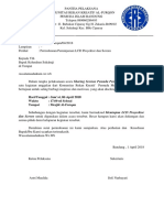 Surat Peminjaman Proyektor