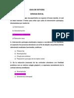 Guía de Estudio Cirugía Bucal