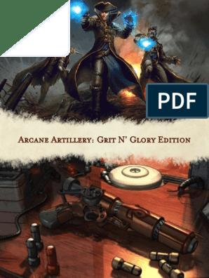 Arcane Artillery Definitive Edition | Firearms | Shotgun