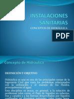 INSTALACIONES SANITARIAS HIDRAULICA