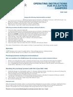 OLD 1305 Betriebsvorschriften Für Druckschlagdämpfer en Low