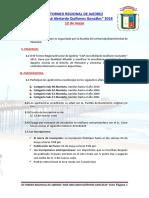 III Torneo Regional de Ajedrez Pimentel 2018