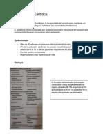 Insuficiencia Cardiaca, fisiopatologia, tratamiento