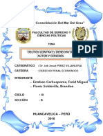 Trabajo Monografico de Derecho Penal Economico