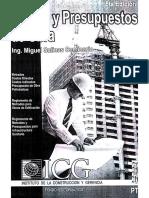 Costos y Presupuestos - Miguel Salinas Seminario