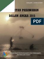 Kecamatan Pasawahan Dalam Angka 2015
