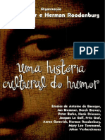 Jan Bremmer & Herman Roodenburg - Uma História Cultural Do Humor