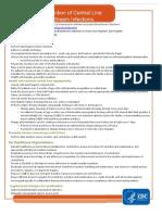CLABSI Checklist