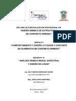Diseño Sísmico en Concreto Armado - Sesión 1 (Manual)