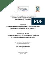 Diseño Sísmico en Concreto Armado - Sesión 2 (Manual)
