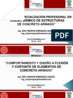 Diseño Sísmico en Concreto Armado - Sesión 2 (Mañana)